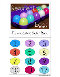 easter resurrection eggs resurrection eggs with free printable and links to other resources