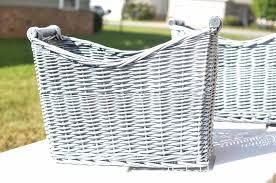 Can You Paint Wicker Chairs How To Spray Paint Wicker Baskets