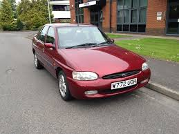 2000 ford escort finesse collectors item 1 6 manual petrol service