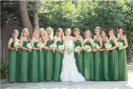 wedding party ideas nature green and white wedding party ideas lianggeyuan123