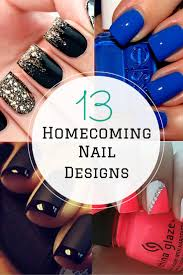 for homecoming 13 nail design ideas for homecoming or just because project inspired