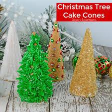 christmas tree cake cones savory experiments