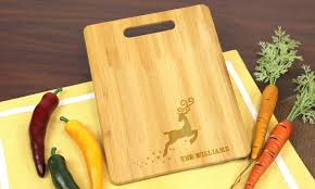 cutting board personalized personalized cutting board monogram online groupon