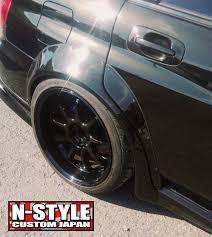 subaru custom n style custom type 9 fender flares gdb subaru n style custom