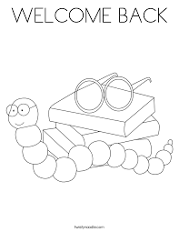 welcome coloring page 100 images a with a pointer