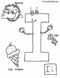 letter l coloring pages getcoloringpages within letter i coloring