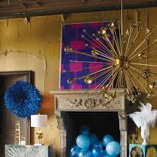 Blue Bottle Chandelier by Giant Sputnik Chandelier Modern Lighting Jonathan Adler