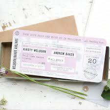 vintage style wedding invitations boarding pass wedding invitation vintage style by paper and inc