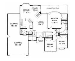 Floor Plans For 1500 Sq Ft Homes House Plans From 1500 To 1600 Square Feet Page 1
