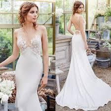 silk satin elegant lace bridal gowns wedding dress 2017 venise