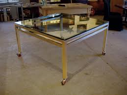 Stainless Kitchen Table by Stainless Steel Kitchen Furniture Brooks Custom