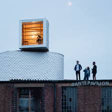 pop up house 5 e architect pup architects erects 2017 antepavilion atop an east london warehouse
