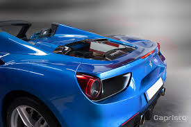 ferrari 488 engine now you can see the ferrari 488 spider u0027s v8 with capristo u0027s engine