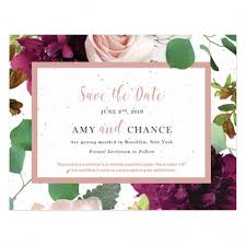 Save The Date Wedding Cards Plantable Seed Save The Date Cards Catalog Botanical Paperworks