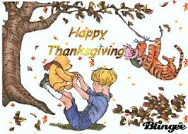 pooh thanksgiving picture 76345154 blingee