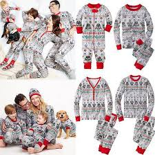 moose plaid family pajama set family pajamas sets longsleeved
