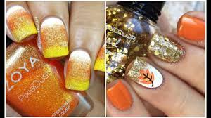 diy thanksgiving nail designs u0026 nail art ideas youtube