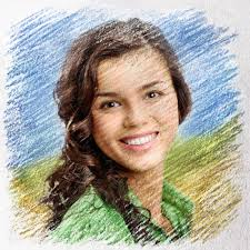 turn your photo into art with u0027crayon drawing u0027 effect