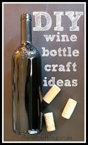 Diy Wine Bottle Decor by Diy Wine Bottle Crafts The V Spot