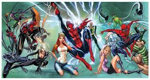 amazing spider man x tra large print signed 2 comics 2 movies