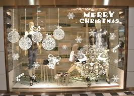 christmas christmas window decorations shop decor paper online