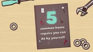 household repairs heiton buckley 5 common household repairs youtube