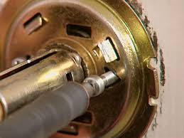How To Break Into A Garage Door by How To Change A Doorknob How Tos Diy