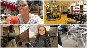giving bella a haircut day in nyc july 25 26 2017 youtube
