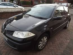 renault megane 2007 renault megane 1 5dci 5 speed dynamique 3 door 2007 black 30 road