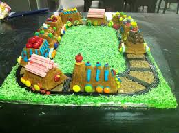 cookingnotes cake as used with snickerdoodle train birthday cake