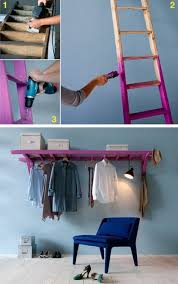 wohnideen small bedrooms diy moebel wohnideen selber machen leider kleider blauer stuhl