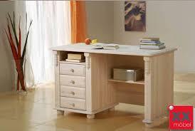 Schreibtisch Echtholz Landhausstil Schreibtisch Weiß Romantik Kiefer Massivholz T11