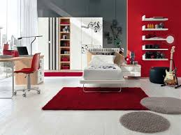 cool red and grey bedrooms for your inspiration interior home
