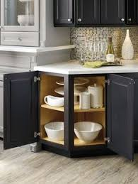 corner cabinet organizers small kitchens and baths pinterest