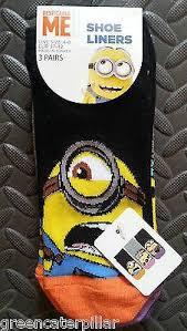 Minion Socks Adults Minions U0026 Despicable Me U2013 Click Buy Love