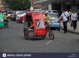 philippine pedicab pedicabs manila philippines stock photo royalty free image