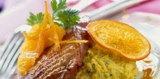 cuisiner les magrets de canard magrets de canard à l orange facile recette sur cuisine actuelle