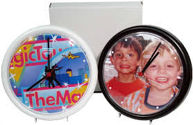 personalized picture clocks personalized photo wall clocks clocks and watches target sign