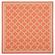 Quatrefoil Outdoor Rug Buy Terracotta Indoor Outdoor Rug From Bed Bath U0026 Beyond