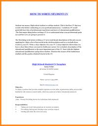sle of resume for high school student for a resume writing for high school students templates memberpro co how