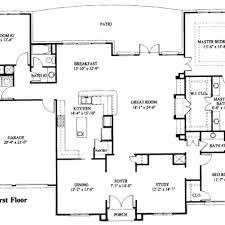 large single story house plans single story log home floor plans large single story log large