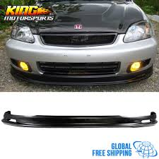 2000 honda civic spoiler for 1999 2000 honda civic mugen style front bumper lip spoiler