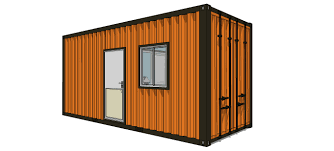 20ft single room floor plan u2013 container house