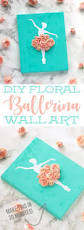 25 best simple girls bedroom ideas on pinterest small girls this diy ballerina wall art is a simple and inexpensive craft you can make to decorate