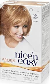 nicen easy color chart clairol nice n easy 8g former 104 honey blonde compare prices on