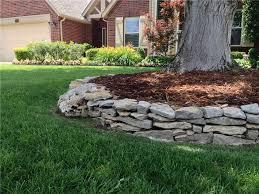 Rock Borders For Gardens Rock Landscape Edging Borders Landscape Edging Ideas Autour
