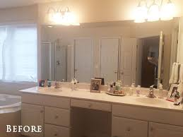 Large Bathroom Mirror With Lights How To Safely And Easily Remove A Large Bathroom Builder Mirror
