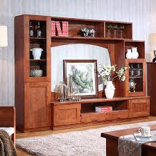 wooden cabinets for living room friends classical wooden tv cabinet combination of solid wood