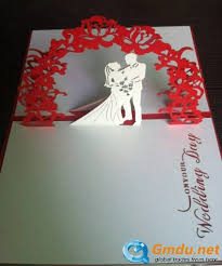 pop up wedding invitations wedding invitation pop up cards beautiful pop up handmade 3d card