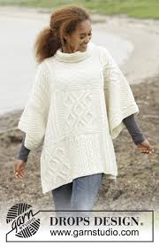 drops design poncho comfort chronicles drops 172 22 free knitting patterns by